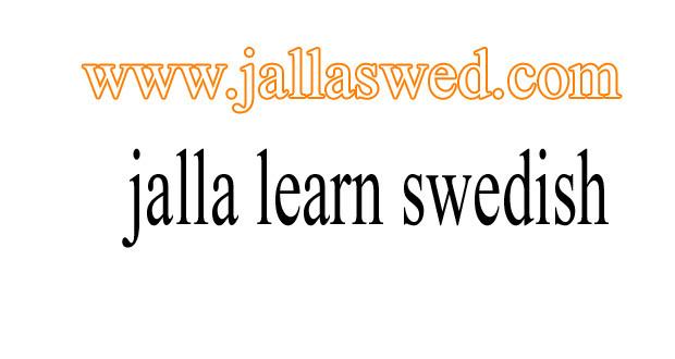 تعلم المحادثة السويدية بالعربي – موقع يلا سويد 2016