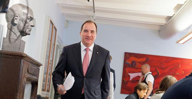 2015 Statsministern har lämnat sjukhuset idag